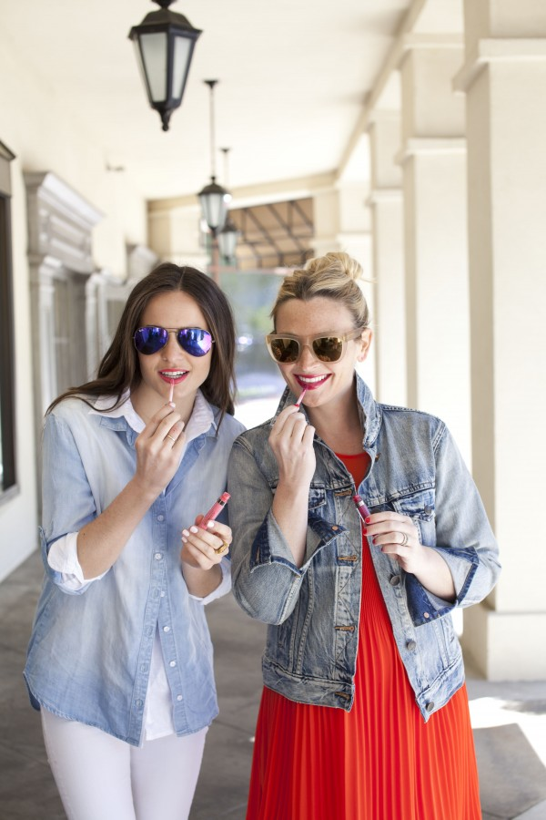 Juice Beauty, Bold Lip, Mirrored Sunnies, Sunglasses, Spring Style, Anthropologie
