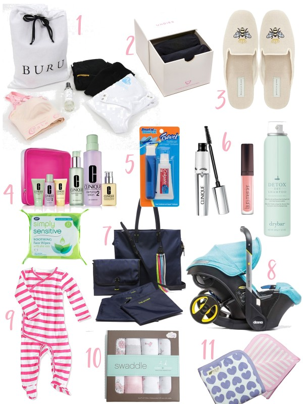 The Chic Mom's Guide to Packing A Hospital Bag