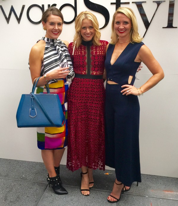 Christina Beauchamp, Lyndsey Zorich and Kate Brennan at Rewardstyle Party in NYC in NYFW