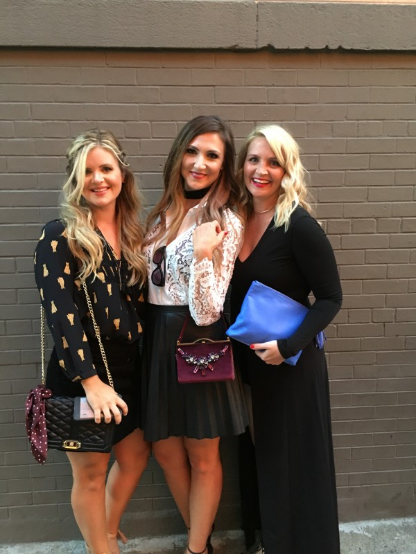 Cristin Cooper, Mallory Fitzsimmons and Kate Brennan at NYFW