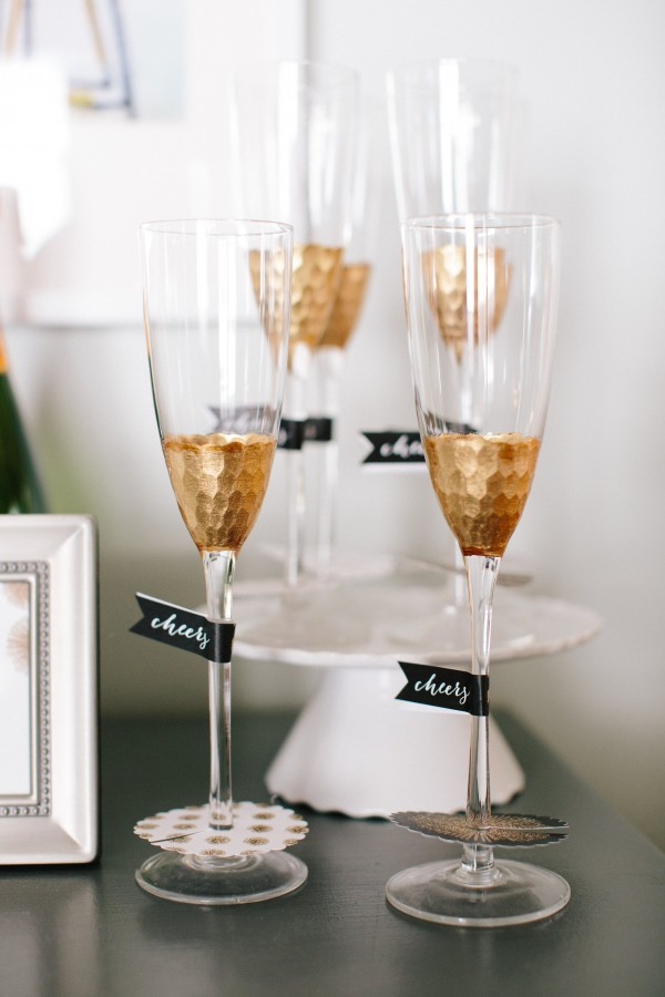 champagne-glasses-with-cheers-sitckers-on-them